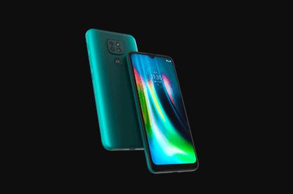 Imagen del Moto G9 Play para ilustrar nota sobre celulares Motorola con mejor batería