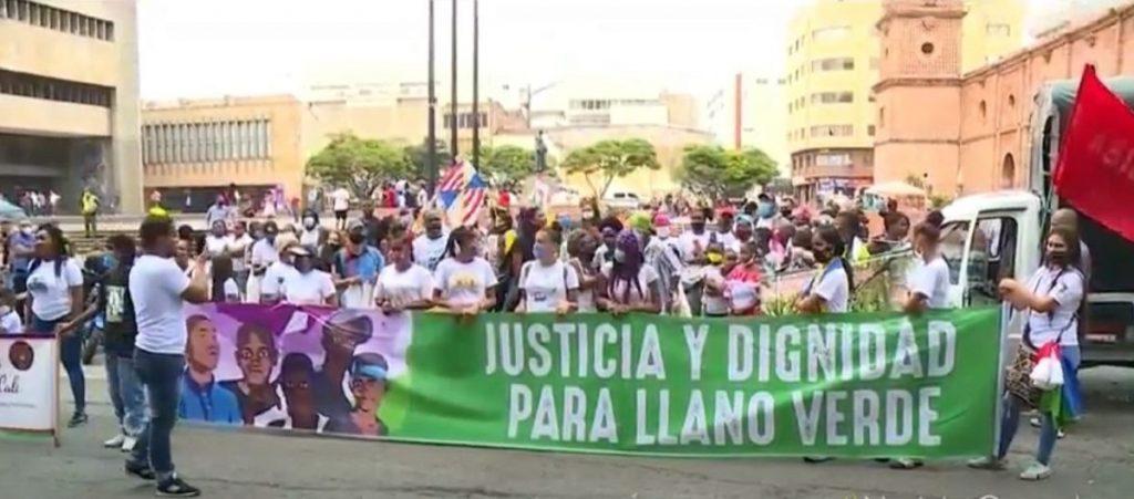 Protesta por masacre de 5 menores en Cali-Noticias Caracol