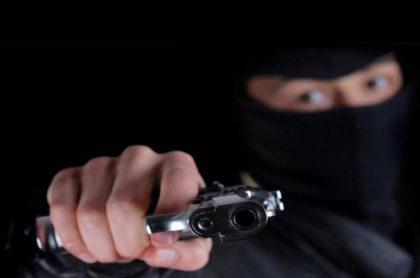 Imagen de encapuchado ilustra denuncia de intento de secuestro en Pereira