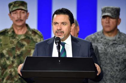 Comisionado de Paz habla de lucha contra el narcotráfico