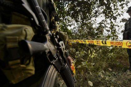 Imagen de archivo que ilustra la masacre de tres jóvenes en Andes, Antioquia