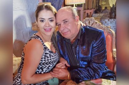 Foto de Catalina Iglesias y Luis Alberto Posada, a propósito de infidelidad de él