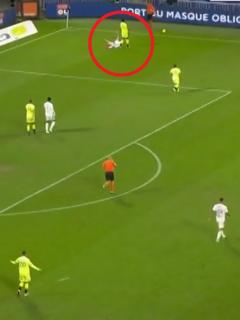 Penalti en Lyon-Dijon