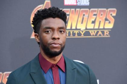 Chadwick Boseman, protagonista de 'Pantera negra', de Marvel