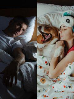 Ilustración de personas durmiendo, a propósito de técnica 478 para quedarse dormido en un minuto