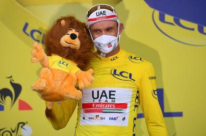 Alexander Kristoff, primer líder de la clasificación general del Tour de Francia 2020
