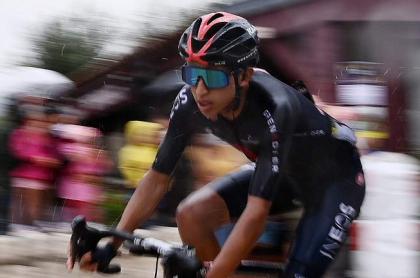 Egan Bernal en la etapa 1 del Tour de Francia