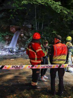 Policía atiende la intoxicación de 7 jóvenes en fiesta ilegal en Oslo.