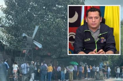 Filas sin protocolos a la entrada de Andrés Carne de Res por las que el restaurante sería sancionado / Luis Carlos Segura, alcalde de Chía.