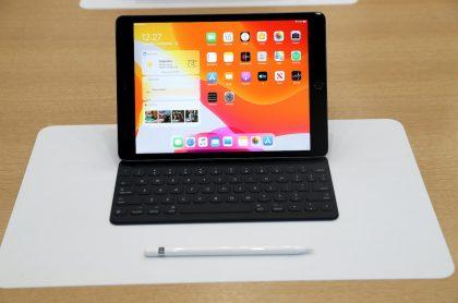 Foto de un iPad para ilustrar nota sobre la patente filtrada de un iPad de 10.8 pulgadas que sacaría Apple