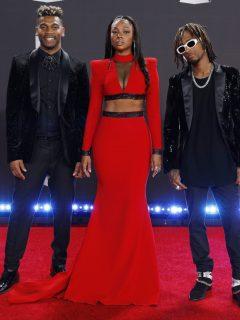 ChocQuibTown, agrupación que inspiró serie d e Sony, en los Latin Grammy 2019.