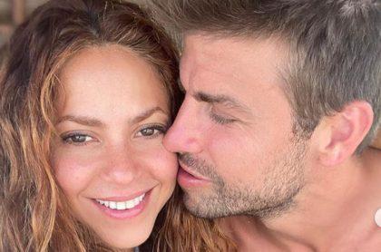 Shakira y Gerard Piqué, en sus vacaciones en las Maldivas.
