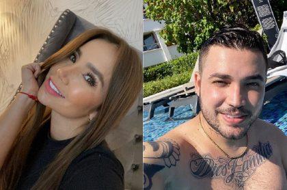 Selfis de Paola Jara y Jessi Uribe, cantantes de quienes se especula se casaron en secreto.