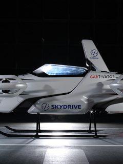 Carro volador de SkyDrive, que hizo su primer recorrido tripulado en Japón