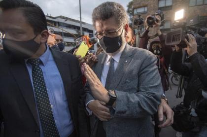 Jaime Granados, abogado de Álvaro Uribe Vélez que pidió su liberación inmediata este 1 de septiembre.