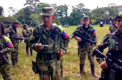 Guerrillero de las Farc 'Antonio Medina' amenaza a dirigente arrocero en Casanare