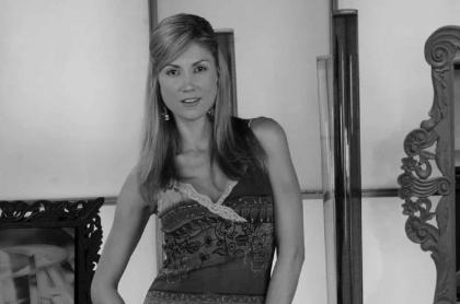 Lina Marulanda, presentadora que murió en 2010 y dejó un diario y una carta.