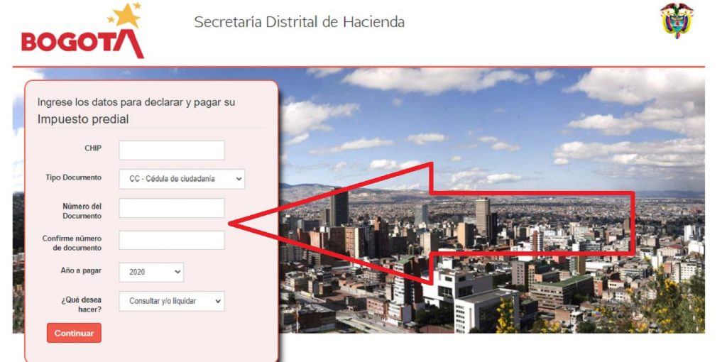 Secretaría de Hacienda datos para declarar el impuesto predial 2020