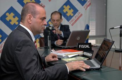 Salvatore Mancuso, cuya extradición hacia Colombia está suspendida.