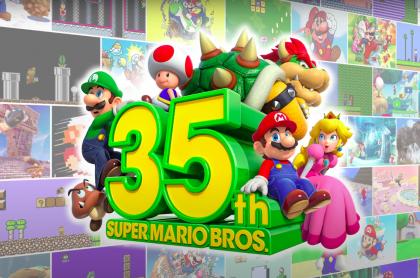 Nintendo celebra los 35 años de Super Mario Bros. con grandes anuncios