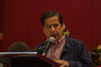 Juan Fernando Cristo, exministro del Interior que quedó atónic