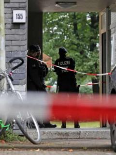 Lugar en que policía de Alemania encontró los restos de 5 niños, asesinados presuntamente por su madre