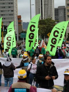 Paro Nacional en Bogotá, noviembre 2019. Convocan movilización nacional.