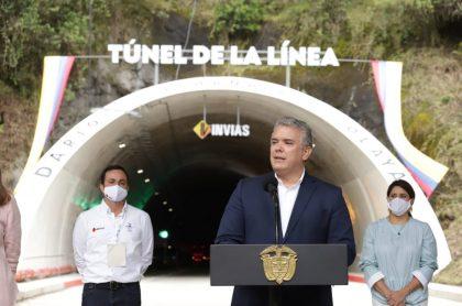 El Instituto Nacional de Vías afirmó que la tarifa del peaje de La Línea no subirá por la inauguración del túnel por este año.