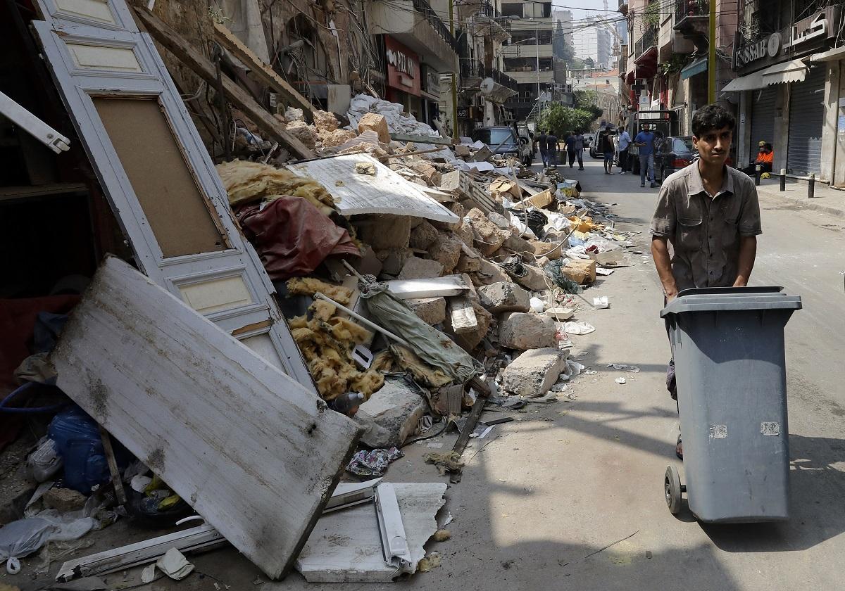 Las pérdidas económicas causadas por la catástrofe, según el Banco Mundial, están estimadas entre 6.700 y 8.100 millones de dólares (AFP).