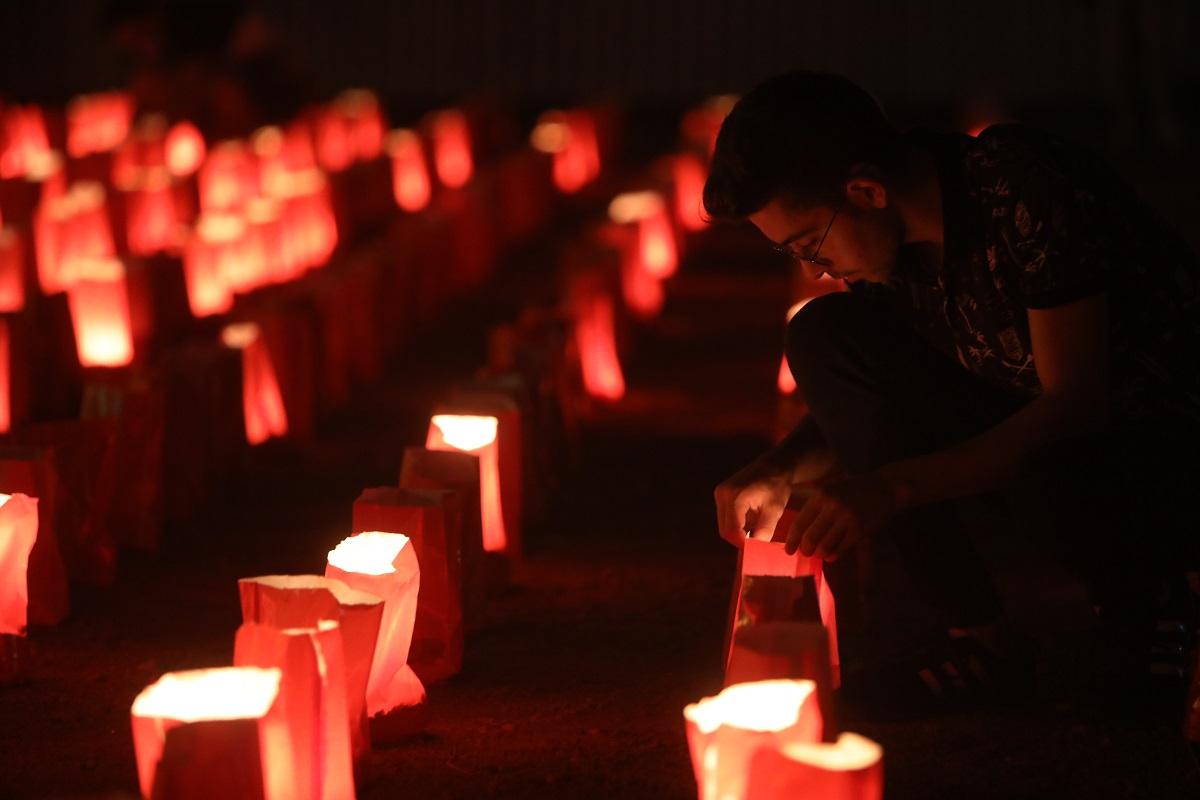 Este viernes se llevó a cabo una ceremonia cerca del puerto para honrar a todas las víctimas que dejó este lamentable incidente (Getty).
