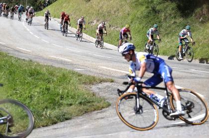 Roglic, nuevo líder del Tour de Francia tras la novena etapa