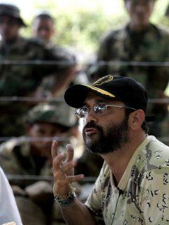 Foto de archivo de exparamilitar Rodrigo Tovar Pupo, 'Jorge 40', cuya deportación fue pedida por Colombia pues quedará libre el 6 de septiembre de 2020.