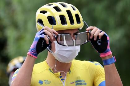Sergio Andrés Higuita dice sentir la fatiga en el Tour de Francia