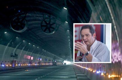 """Germán Vargas Lleras dijo que hay poco que celebrar por la inauguración del Túnel de La Línea y mencionó algunos de """"sus pecados""""."""