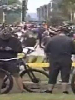 Masiva asistencia de bogotanos a la Ciclovía.