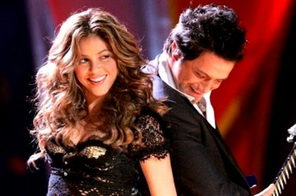 Shakira y Alejandro Sanz.
