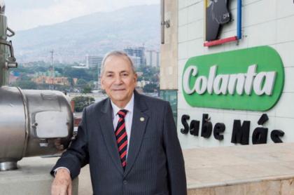 El empresario antioqueño Jenaro Pérez murió este domingo 6 de septiembre en la mañana, según confirmó Colanta.