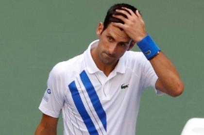 Novak Djokovic se disculpa por pelotazo a una jueza en el US Open