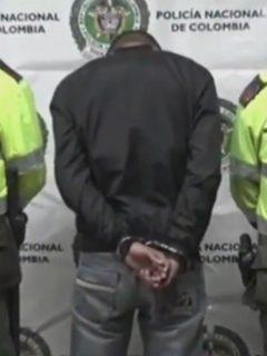 Hombre capturado en Bogotá, que es sospechoso de asesinar a se ex en un motel de Barranquilla
