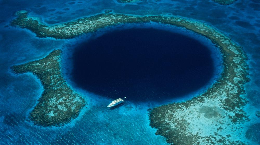 Gran Agujero Azul de Belice.