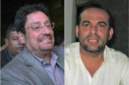 'Pacho' Santos, que le respondió a Salvatore Mancuso, y el exjefe paramilitar (Fotomontaje de Pulzo)