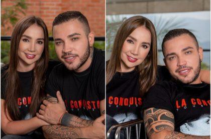 Paola Jara y Jessi Uribe, a propósito de que la cantante conoció a los hijos del artista