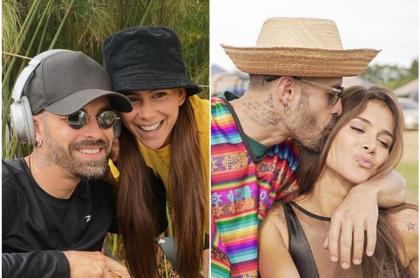 Fotomontaje de Mike Bahía y Greeicy Rendón, a propósito de que él hizo sugestiva confesión sobre su novia