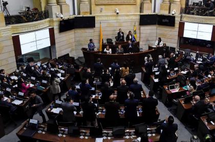 Imagen de Congreso de Colombia ilustra nota sobre megapensión que le quitaron a familia de fallecido exsenador