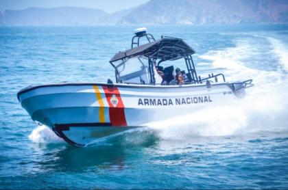 Imagen de la Armada Nacional que ilustra nota sobre extraña muerte de infante de marina, en Santa Marta.