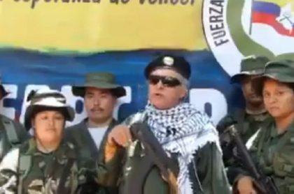 Video de Jesús Santrich hablando de relanzamiento de las Farc