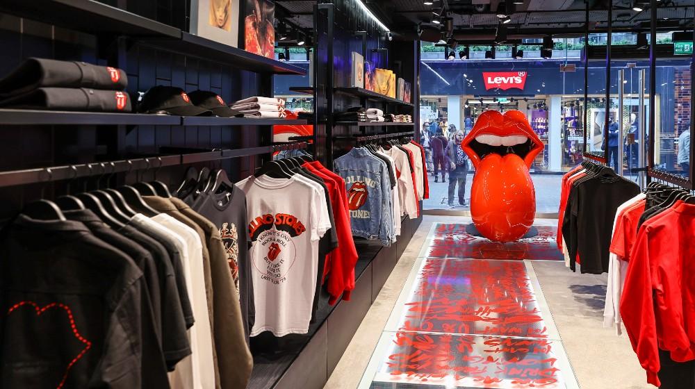 Fotos de la tienda de los Rolling Stones en Londres 5.