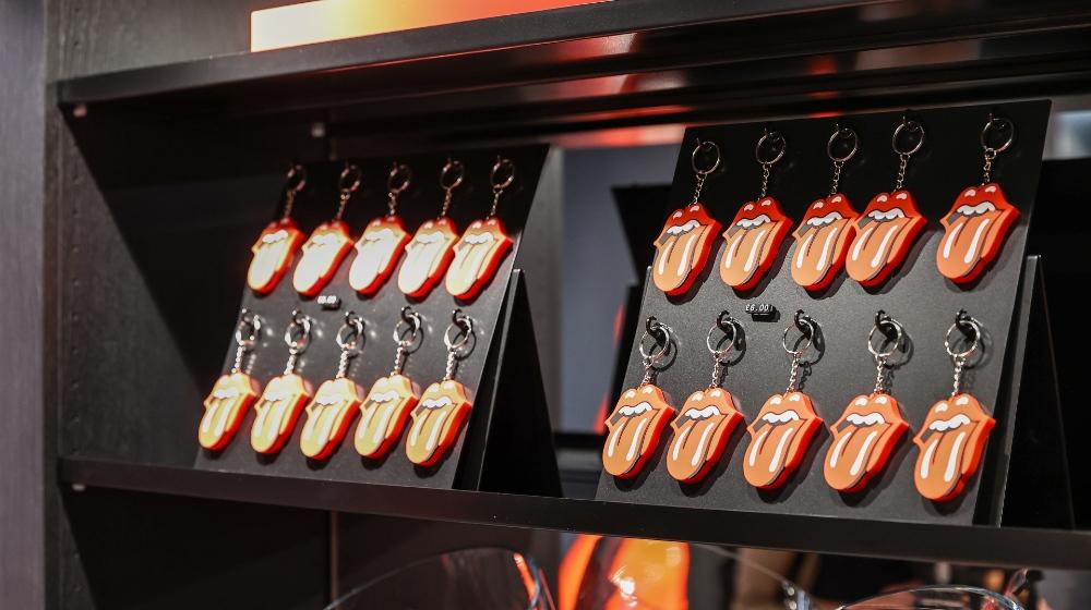 Fotos de la tienda de los Rolling Stones en Londres 7.
