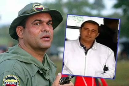 Salvatore Mancuso y su mano derecha en las autodefensas, alias 'Camilo', que se hacía pasar como empresario en Panamá