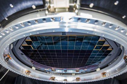 Plano focal completo de la futura cámara digital más grande del mundo